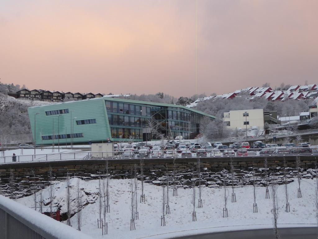 Første dag på Nordahl Grieg VGS