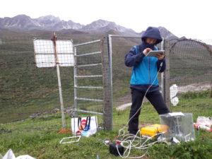 Xiao Xiang starter opp maskinen