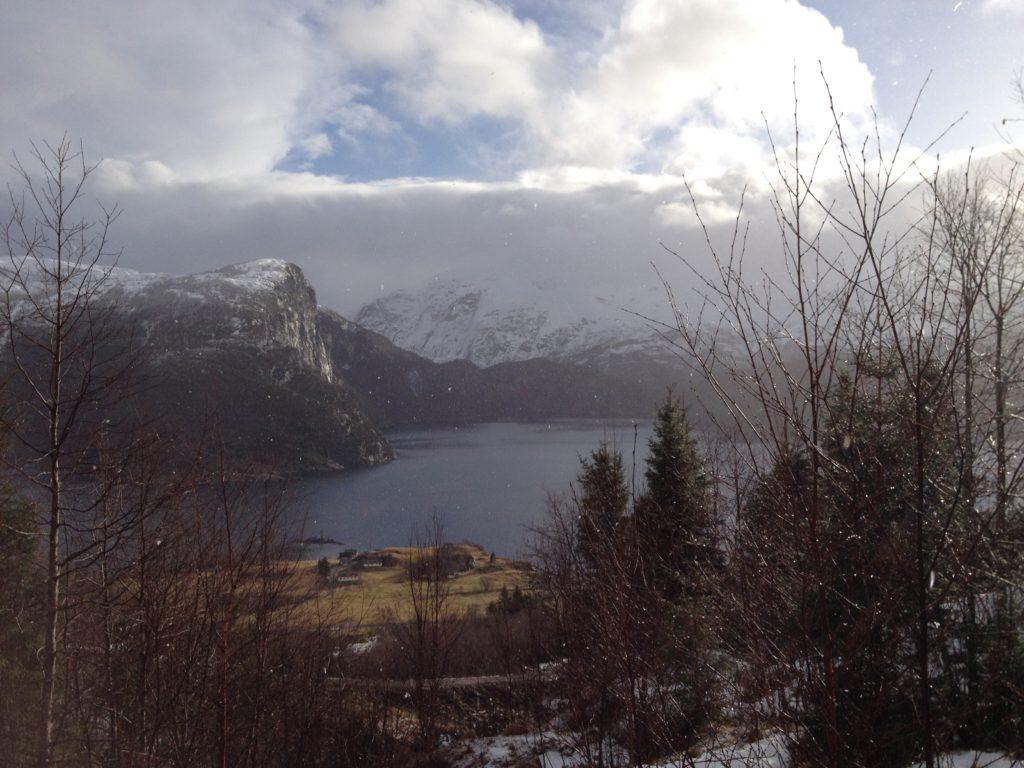 Vevring og Førdefjorden