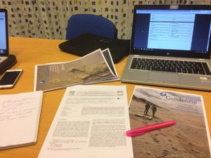 Research på registreringsmetoder for marin forsøpling